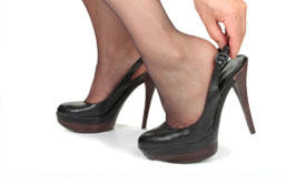 perth podiatry tip - save high heels